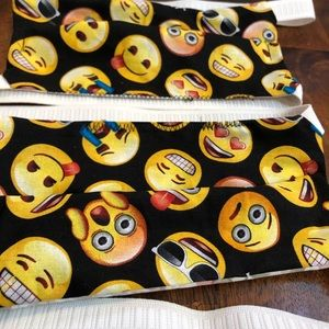 NEW 2 face masks Homemade PPE covers set of TWO